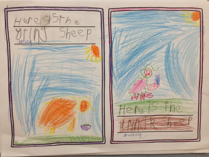 'Where is the Green Sheep' inspired writing. Love, Laughter and Learning in Prep!