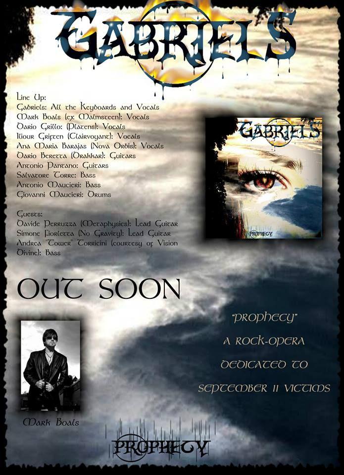 """Un artista unico e completo: GABRIELS, #compositore, #produttore, #pianista e #tastierista. Dopo un approfondito studio pianistico, ha iniziato la sua carriera come tastierista #rock e #metal, con numerose collaborazioni in studio e live. A suo nome ha pubblicato due singoli e tre album e l'opera rock """"Prophecy"""", con Mark Boals alla voce. GABRIELS è inoltre produttore presso il suo studio e scuola di musica SOUNDIMENSION RECORDS a Milazzo…"""