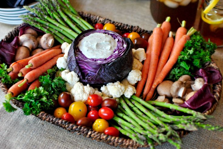 The Great Veggie Tray