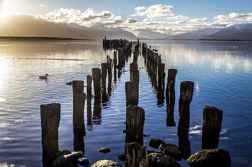 El muelle de Puerto Natales | Flickr: Intercambio de fotos