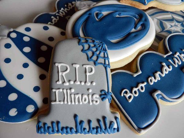 Penn State Wedding Gifts: 97 Best Images About PSU Cakes And Cookies On Pinterest