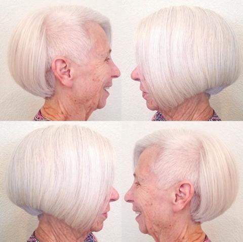 Ja, das ist eine Oma, TUN !!! | Moderner Salon   – Hair Cuts