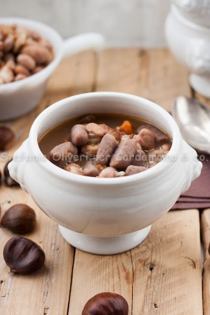 Cardamomo&co.: Zuppa di fagioli borlotti con castagne e gnocchi di castagne