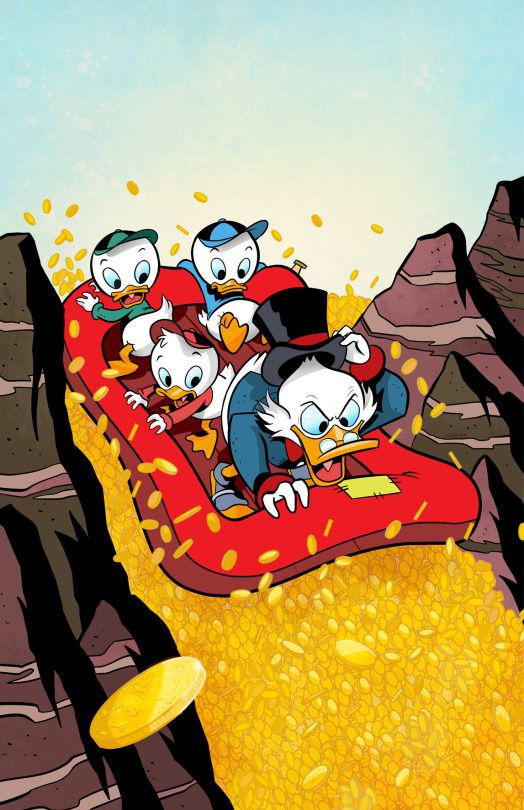 Uncle Scrooge - IDW's comic cover art