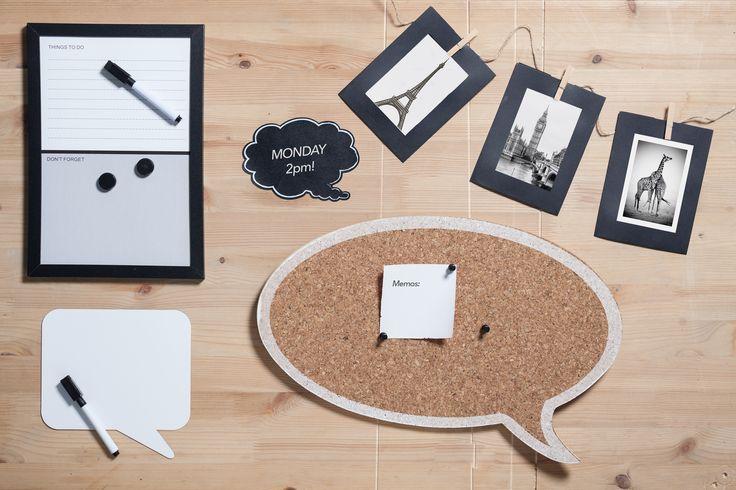Detalles para personalizar tu escritorio o despacho #muymuycho #escritorio #trabajo #fotos #personalización #decoración #pop #organización #workspace
