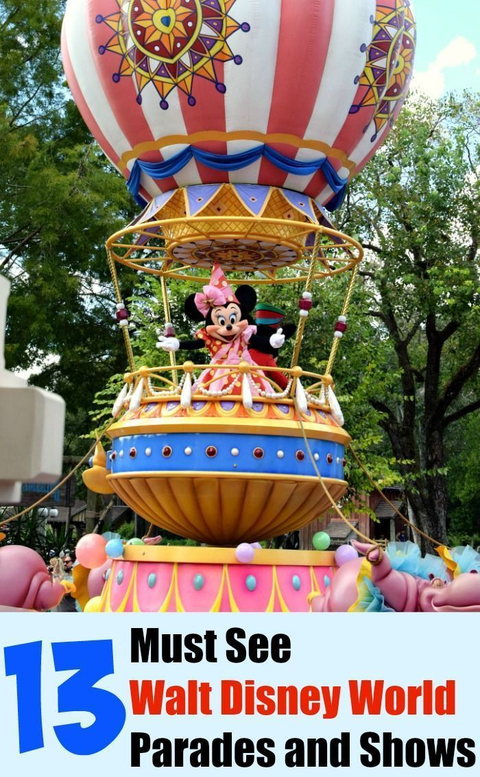 Heading to Walt Disney World just for the rides and attractions? Make sure to save time in your day for these 13 must see WDW Rides and Shows!
