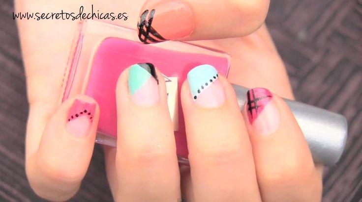 Diferentes pintados de uñas fáciles