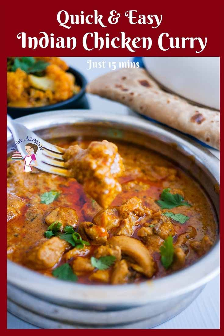 This quick and easy Indian Chicken Curry is a real treat ...