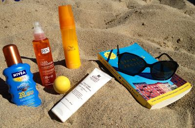 Every girl's must haves for beach.