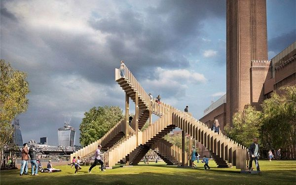 "London Design Festival 2013 Highlights: ""the endless stair"" by dRMM Architects, Image Source arup.com"