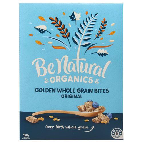 Be Natural Organics Cereal Origin Goldn Wholegrain Bites