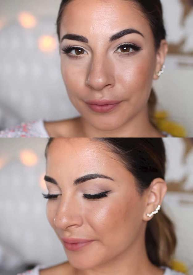 34 Makeup Tutorials For Small Eyes The Goddess - 625×893