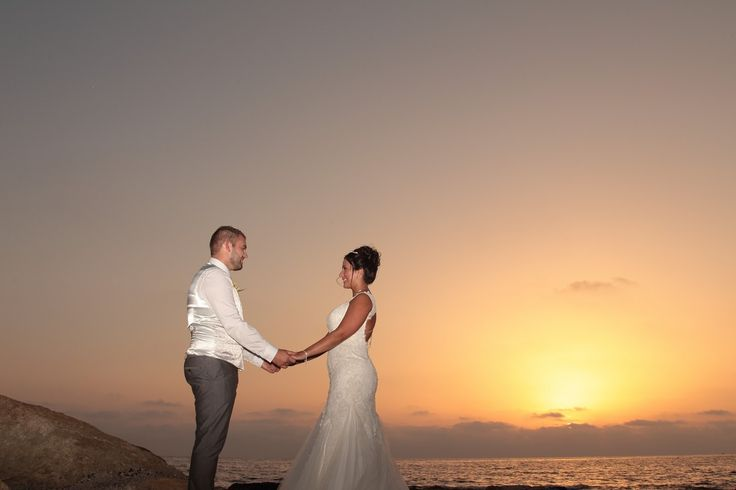 September sunset in Paphos