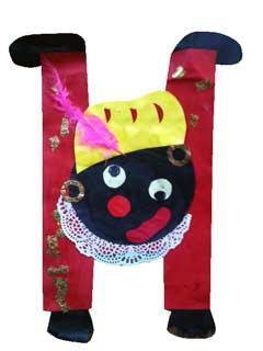 Kunstje van Zwarte Piet