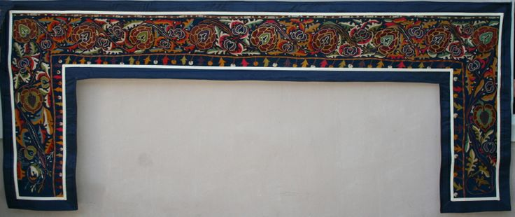 Туш кийиз - Свадебный ковер ручной работы, вышивке около 50 лет