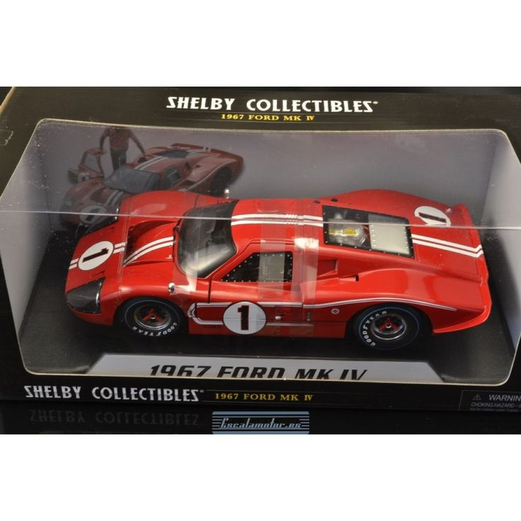 1967 ford gt40 mkiv winner 24h le mans dan gurney/ a.j.foyt, red/white