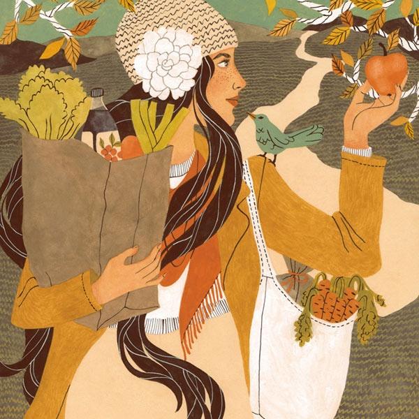 riikka sormunen: Artists, Vintage Chic, Inspiration, Autumn, Colors, Beautiful, Illustration, Art Prints, Riikka Sormunen