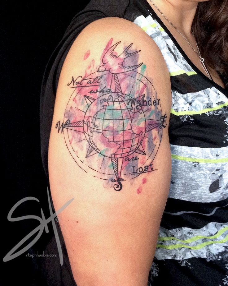 158 best images about compass on pinterest for Tattoo parlors in vermont