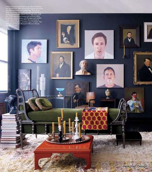 Midnight Blue Living Room: 1000+ Images About Paint Color Schemes: Midnight Blue From