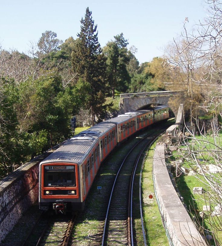 TRAVEL'IN GREECE I Metro (Piraeus-Kifissia line), #Athens, #Greece