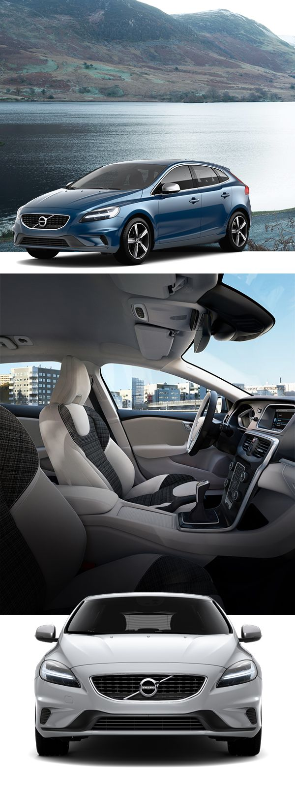 Take control with the agile volvo v40 the nimble compact hatchback that s designed to