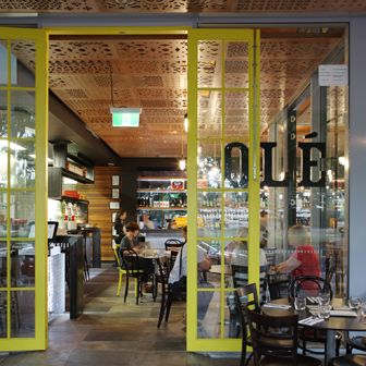 Ole Restaurant, South Bank by Arkhefield. Photography: Scott Burrows