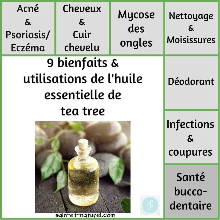 9 bienfaits & utilisations de l'huile essentielle de tea tree