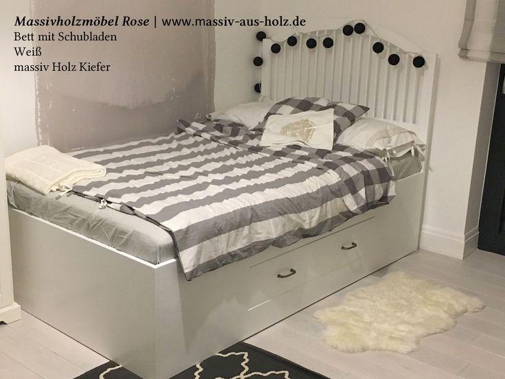 73 besten Betten Bilder auf Pinterest Betten, Landhausstil und - schlafzimmer landhausstil massiv