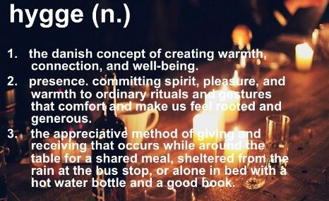 Do you have Hygge?