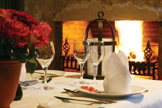 The beautiful Casalinga Restaurant in Muldersdrift.