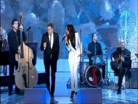 SHY'M & MICHAEL BUBLE - White Christmas [Live]