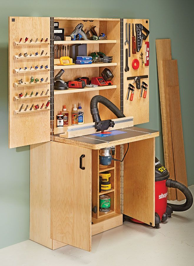 photo large router table router table plans router on inspiring diy garage storage design ideas on a budget to maximize your garage id=76102