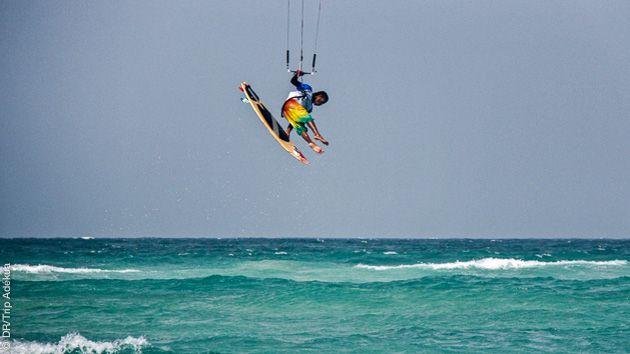 stage de kitesurf strapless au cap vert à Sal