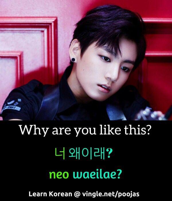 You like it korean