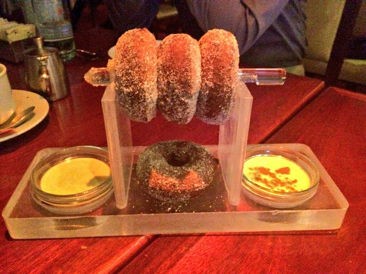 ~ Fresh Sugared Donuts at FIX, Bellagio, Las Vegas