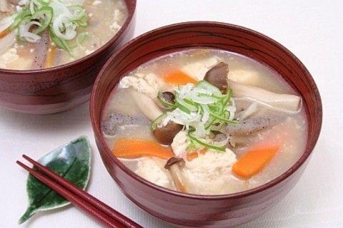 けんちん汁 by 三島食品