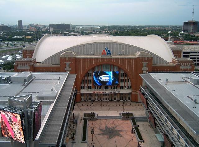 American Airlines Center - Dallas, TX:  Dallas Stars / Dallas Mavericks