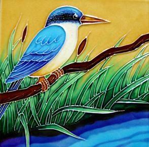 NZ+Ceramic+Kingfisher+Tile  http://www.shopenzed.com/nz-ceramic-kingfisher-tile-xidp428958.html