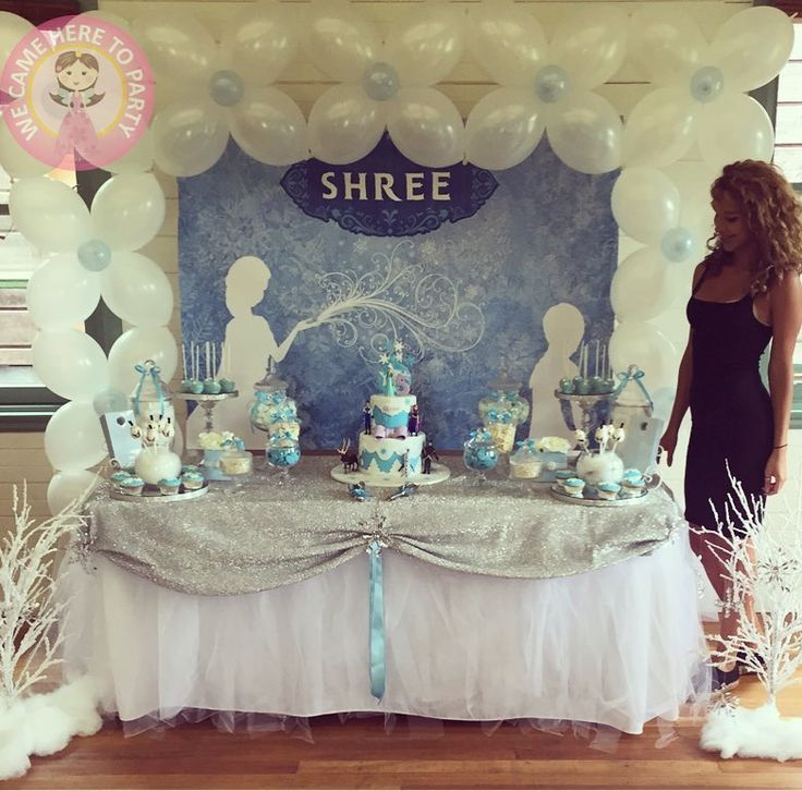 "29 Likes, 2 Comments - We Came Here To Party (@wecameheretopartyaus) on Instagram: ""❄️This #frosty #dessert table is incomparable❄️ Close ups to come"""