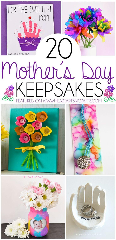 20 Jour Keepsake Gifts des mères que les enfants peuvent faire