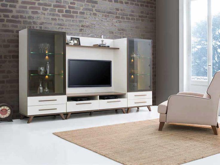 Sönmez Home   Modern Duvar Duvar Ünitesi Takımları   Valente Tv Ünitesi