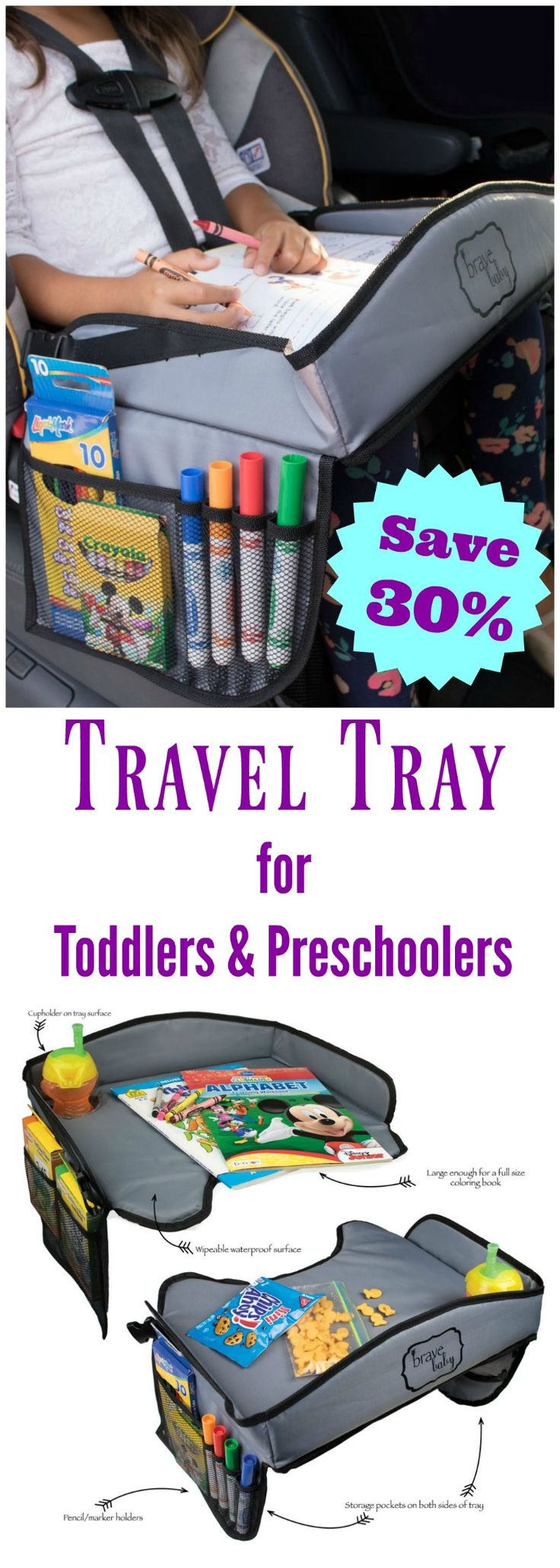 Kids Portable Travel Tray for Car, Airplane, Stroller - 25+ Best Ideas About Travel Tray On Pinterest Kids Car