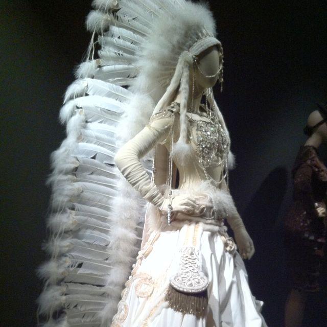 Jean Paul Gautier Native American Inspired Wedding Dress