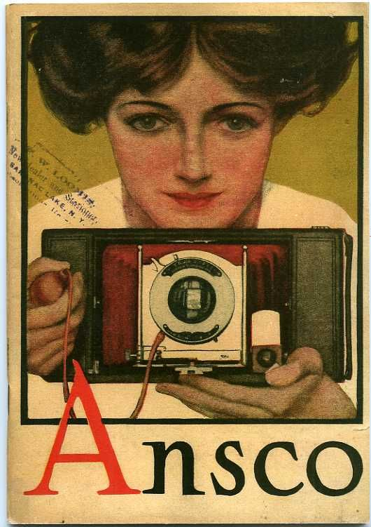 1910 Ansco Catalog (reprint) Includes the Ansco shutters, the Buster Brown series of cameras, folding Ansco pocket cameras, film, paper and chemicals.