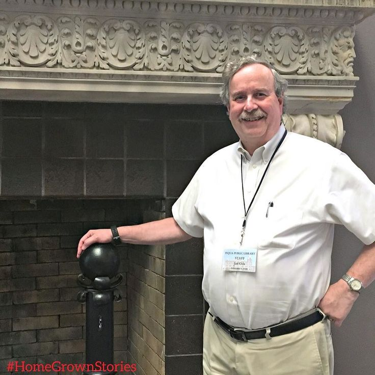 #HomeGrownStories  Jim Oda is a fifth generation Miami County resident. Before working at the library he owned an antiquarian bookstore in Piqua. Today Jim is the Library Director of the Piqua Public Library.  In 2008 the library moved from its location in the former Piqua Men's Club to the Fort Piqua Plaza. The Plaza built in 1891 underwent a 21 million dollar renovation.  About the history of the Fort Piqua Plaza:  The Plaza Hotel was built in 1891. It was Piquas response to Troy getting…