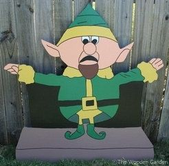 Boss Elf by HolidayYardArt on Etsy