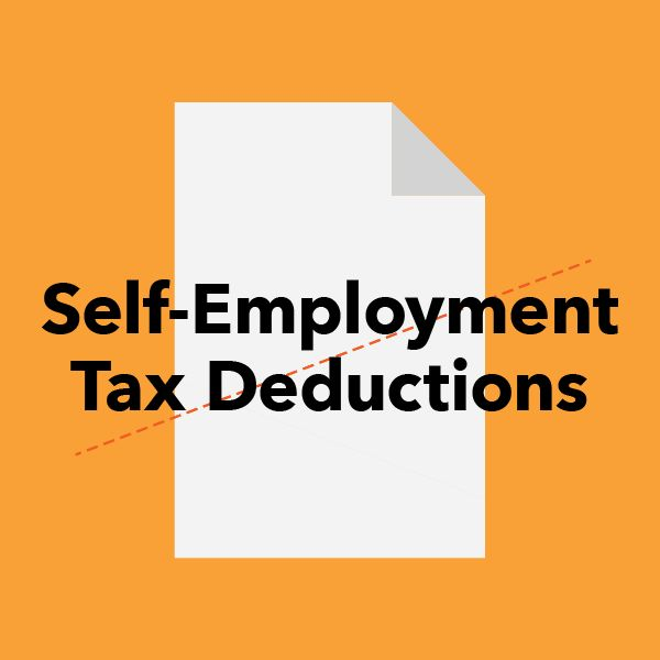 Tax Deductions Guide for Freelancers and the Self-Employed -Self-employment tax: You can deduct half the cost of Medicare and Social Security tax (the portion your employer normally pays for) on form 1040 Line 58.
