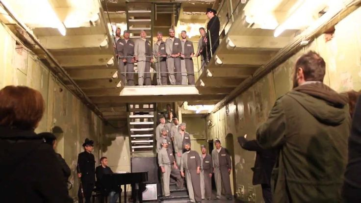 Beethoven's Prisoners' Choir performed in Old Bergen Prison. Introduction by Mary Miller.