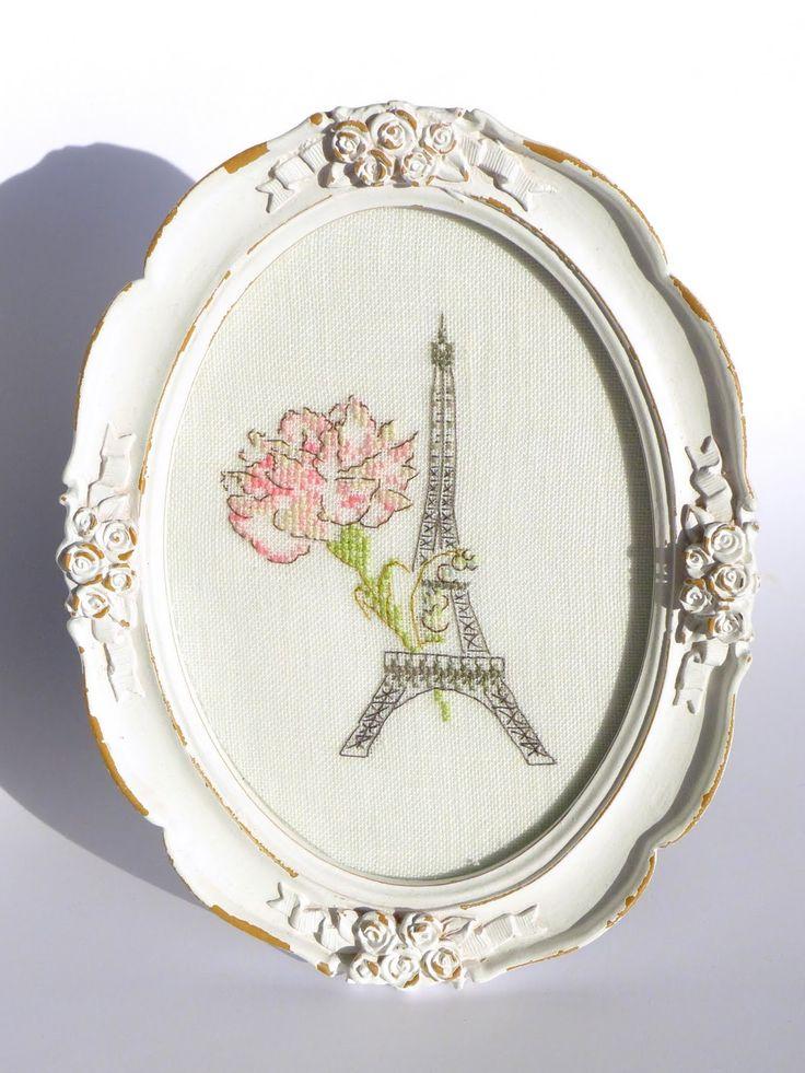Moja pasja, mój świat: Vues de Paris - Un fabuleux voyage - Hélène Le Berre