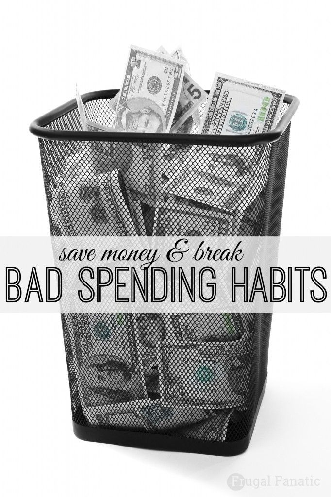 Bad habits are hard to break especially when it comes to spending money. Read these tips on saving money to help you break your bad spending habits and start to increase your savings account.